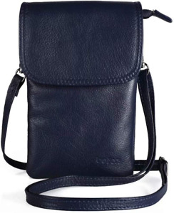 Genuine Leather Phone Bag,Befen Real Leather Phone Purse, Small Phone Cross Body