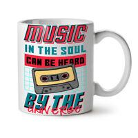 Music In The Soul NEW White Tea Coffee Mug 11 oz | Wellcoda