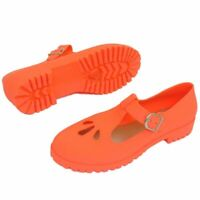 WOMENS CORAL FLAT JELLY SEA BEACH SANDALS SUMMER HOLIDAY PUMPS SHOES UK 3-8