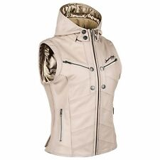 Speed Strength Women s Hells Belles Leather Vest Cream X-Large 884289 88-4289