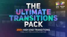 The Ultimate Transitions Pack – Final Cut Pro X & Apple Motion Digital
