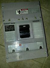 NEW SEIMENS HLD63F500 3 POLE 500A 600V SENTRON CIRCUIT BREAKER
