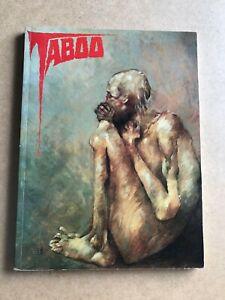 TABOO 5, SpiderBaby Graphix, Alan Moore, Clive Barker, Stephen Bissette ~ RARE