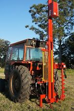 FARMFORCE POST DRIVERS fence hole HYDRAULIC rammer digger FENCING auger thumper
