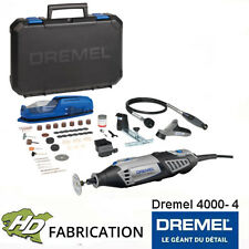 Dremel 4000-4 avec 65 accessoires, 1 flexible, 1coffret