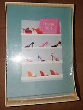 Thank You Cards Pack of 20 Count - American Greeting - Stylish High Heel Shoes