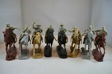 """TSSD10A """"Mounted ACW Confederate Cavalry (Gray)"""" 54mm Plastic Toy Soldiers"""