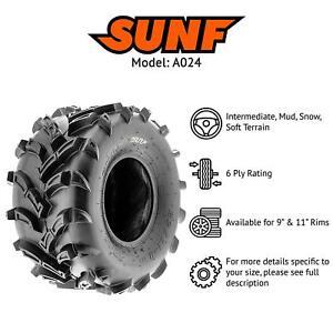 "23x8x11"" | 23/8/11 SUNF A-024 Tyre 6 PLY ATV Quad - Mud Tyres - *PRE ORDER*"