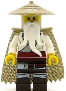 LEGO Ninjago Minifigure Master Wu with Cape (Genuine)