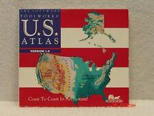 Cd Rom U.S. Atlas Version 1.5 - Ibm
