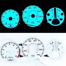 《BAR Autotech》 Indiglo Cluster EL Glow Gauge for Honda Accord 90-93 AT MPH