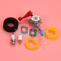 Carburetor Carb Bulb For Poulan FL1500 FL1500LE Air filter Fuel line Tune up kit