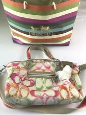 Coach Poppy Dream C Glam Tote Bag Collectible Hard to Find 16697