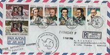 Air Mail British Antarctic Territory Stamps