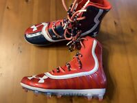 Under Armour Highlight America Mens Size 8.5 Football Cleats New Without Box