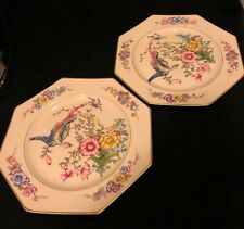 Rosenthal Ivory Phoenix Octagonal Luncheon Plates Set of 2- More Available!