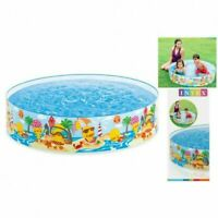 Kids Children Garden Snapset 4 ' x 10'' Paddling Rigid Swimming Pool Party