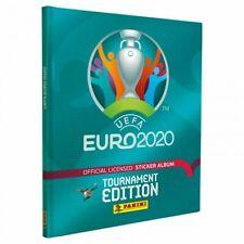 Panini euro 2020 hard cover empty album Belgium