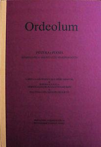 Rosario LA POLLA cartella completa ORDEOLUM con 2 litografie e 2 poesie