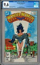 Wonder Woman #3 CGC 9.6 White Pages 1st app Julia & Vanessa George Perez