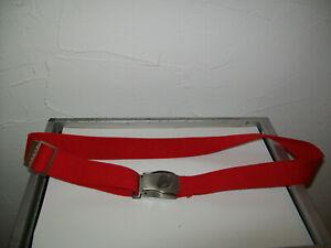 Air Berlin Gürtel in rot | Seat Belt Design | Flugzeuggurt #105