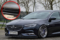 Spoilerschwert Frontspoiler Cuplippe ABS Opel Insignia B schwarz glänzend