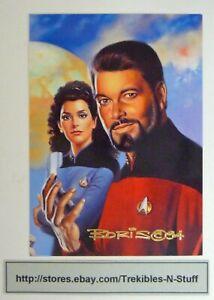 Star Trek MASTER SERIES 1994 Triptych Card F5