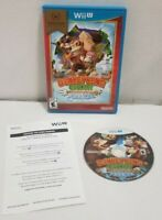 Nintendo Wii U Donkey Kong Country Tropical Freeze Complete Mint Disc TESTED EUC