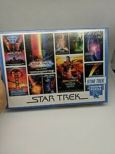 Cobble Hill 1000 Piece Puzzle - Star Trek: Films w/ poster brand new sealed