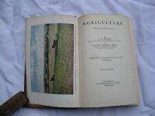 1916 AGRICULTURE Benson & Betts General Edition (Crops Soil Animals Economics)