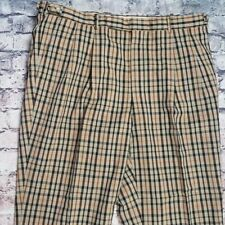 Daks London Plaid Wool Bland Pants 32x32