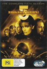 Babylon 5 new/sealed 6dvd set- Complete Fifth Season / 5