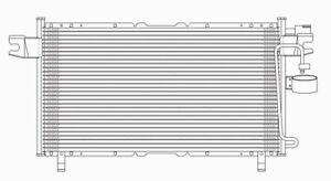 A/C Condenser TYC 3005