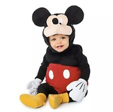 Mickey Mouse Deluxe Plush Costume for Baby Size 18-24 Months New With Tags