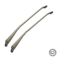 Porsche 911 912 1965-1977 Wiper Arm Silver PAIR Replaces 90162892900 90162893000
