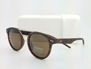 NEW Polaroid sunglasses PLD6031S N9PSP 49mm Matte Tortoise - Polarized Brown