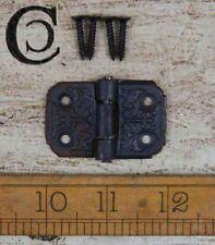 Cast Antique Iron Decorative Hinge - 50mm