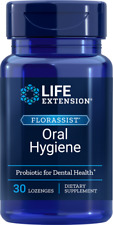 Life Extension FLORASSIST Oral Hygiene, 30 lozenges | Mouth, Oral Probiotic