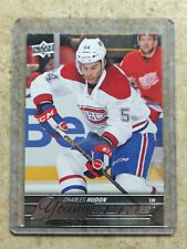 15-16 UD Series 2 YG Young Guns Rookie RC #452 CHARLES HUDON