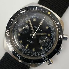 38MM 1970 Vintage Men's Birnbaum Mens Chronograph Watch Works Valjoux 7733 Swiss