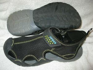 Crocs men's swiftwater model lightweight water sandals (style 15041) size 8