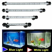 Waterproof LED For Aquarium Fish Tank Light Bar Submersible Underwater Clip Lamp