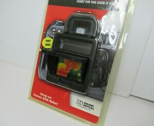 Delkin Devices Snap-On Pop-Up Shade for Canon EOS Rebel New!