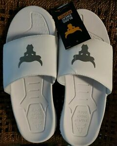 Under Armour Project Rock Slides / White