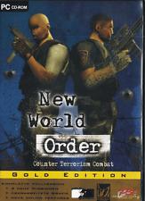 New World Order Gold Edition Action Shooter PC Spiel Counter Terrorism  wie Neu