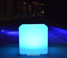 Glow Cube 40cm, LED Cube Seat