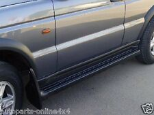 LAND ROVER DISCOVERY 2 TD5  SIDE STEPS (PAIR) WITH RUBBER TREAD UK MADE ACD4