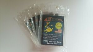 Pro Mold PC206 T-206 A&G Tobacco Cards One Screw Card Protector Lot of 5 New NIP