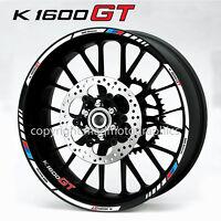 BMW Motorsport K1600GT motorcycle wheel decals rim stickers set stripes k1600 GT