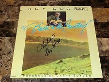 Roy Clark Rare Authentic Signed Vinyl LP Record Country Music Banjo Legend + COA
